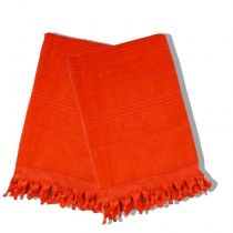 Serviette de Hammam 100x180cm Orange