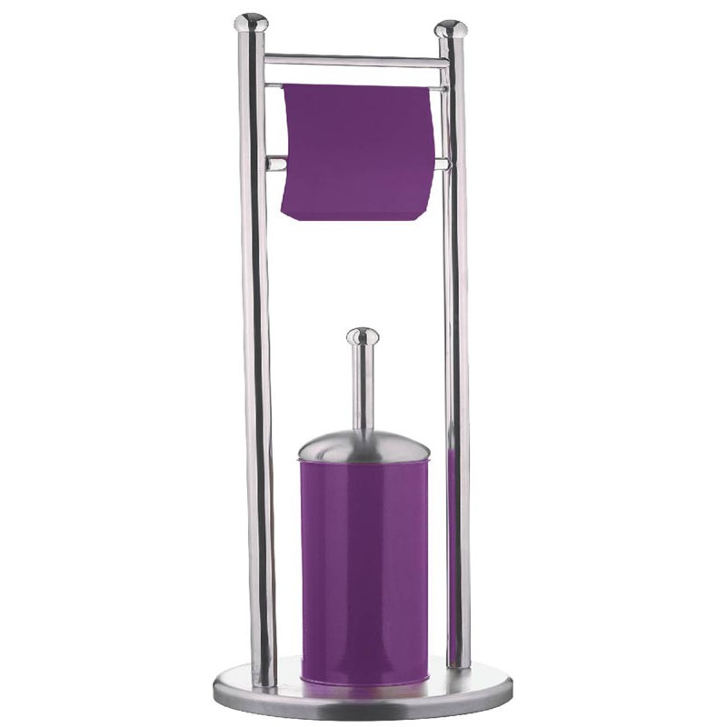 brosse wc d rouleur violet. Black Bedroom Furniture Sets. Home Design Ideas